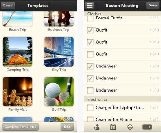 a11 520x430 Bon voyage! Stow is a sweet iOS packing list app for forgetful travellers