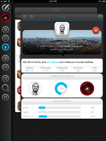 b12 Neatly tidies your Twitter timeline, letting you filter, highlight and mute tweets