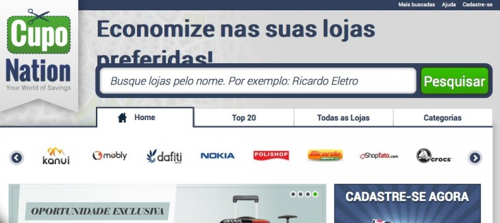 cuponation 730x325 Rocket Internet backed CupoNation brings its e commerce coupon service to Brazil