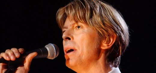 British singer David Bowie performs 01 July 2002 i