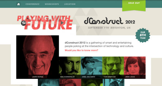 dconstruct 520x275 29 new inspiring responsive designs on the web