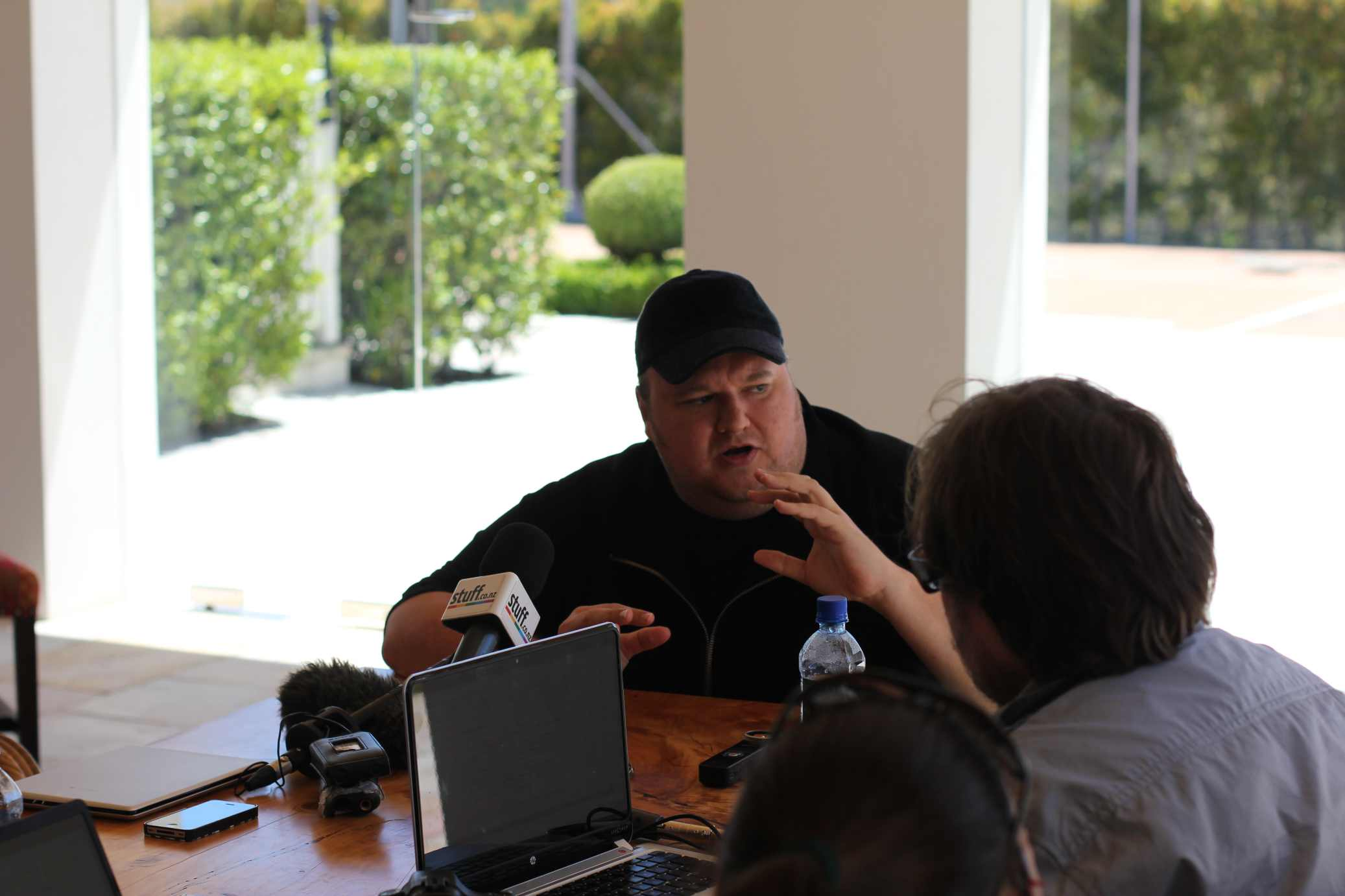 dotcomtalking Face to face with Kim Dotcom as he launches Mega, talks about Megakey and the future of free content