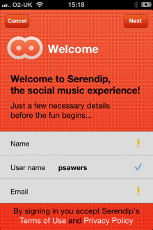 e5 220x330 Serendip launches its social listening app on iOS to help you find your music soulmates