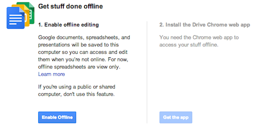 offline You can now create, edit and present using Google Slides without an Internet connection