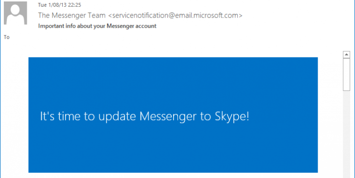 skype messenger 730x366 Microsoft confirms Messenger will be retired and users migrated to Skype on March 15