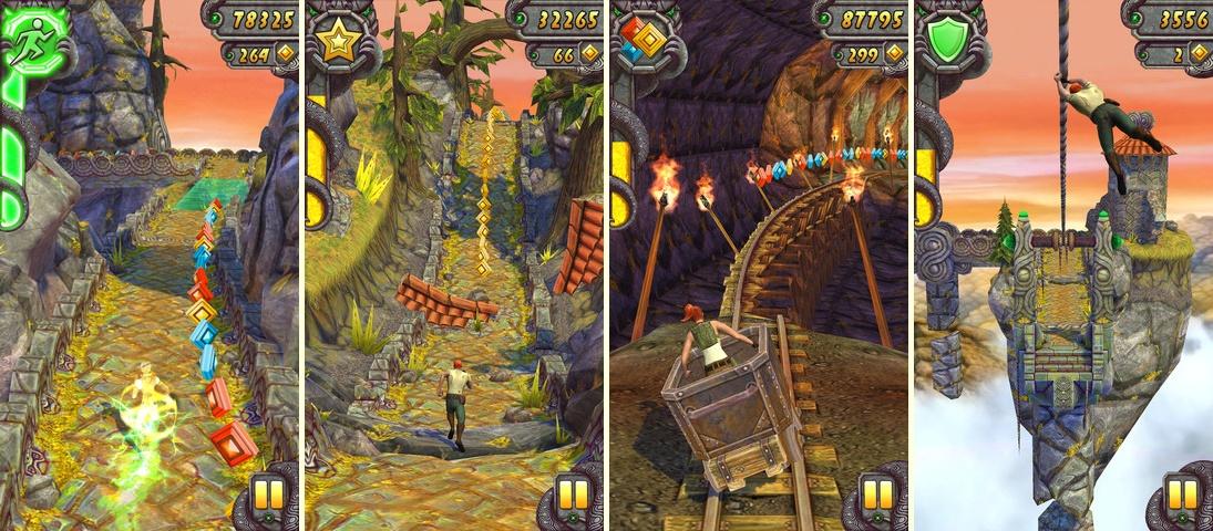 Temple Run †игра для iOS, в которой мы в роли археолога мчимся по
