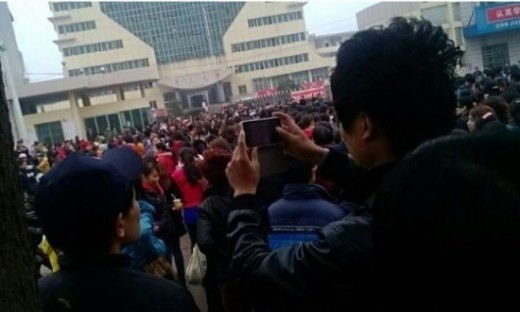 Foxconn confirms worker strike over low wages at supplier plant in China