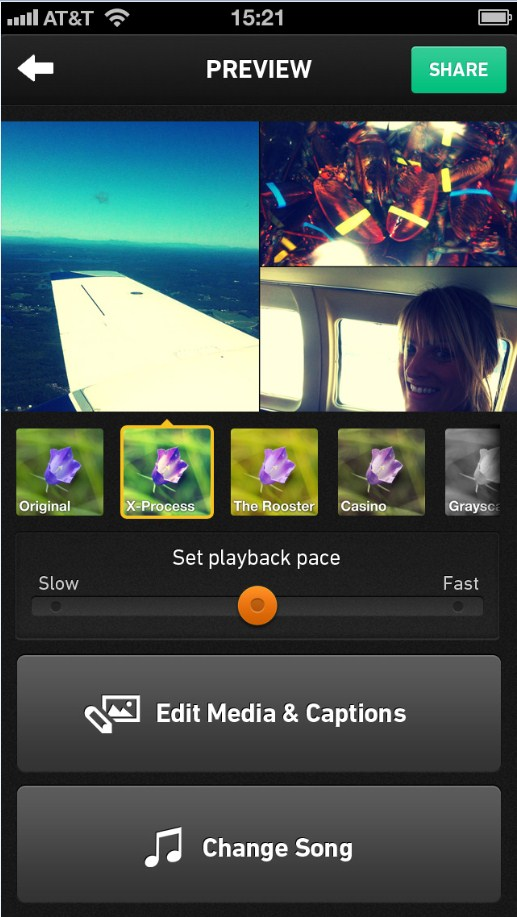 2013 02 06 17h28 24 Qwiki rebuilds itself as a iOS app that lets users build on the fly mashups of their videos and pictures