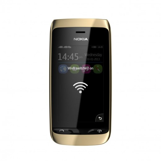 Nokia unveils new Asha 310 with dual SIM and WiFi interoperability, available later this quarter for $102
