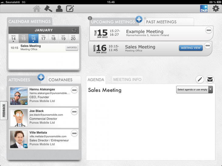 IMG 0176 730x547 Meeting Assistant for iPad wants to change the game for organizing and managing business meetings