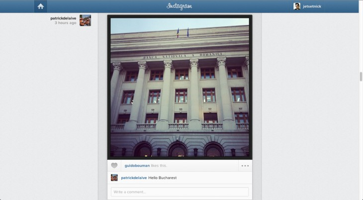 Instagram2 730x402 After launching online profiles, Instagram now lets you view your feed, like photos, and comment on the Web