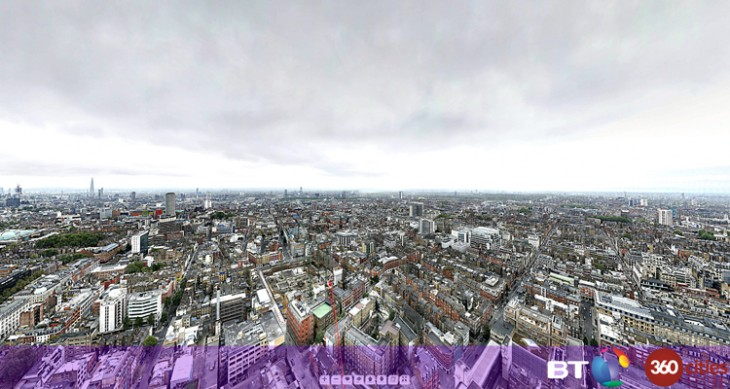 Londonselect2 730x389 360 degree panorama of London smashes world record with 320 gigapixels and 48,640 shots