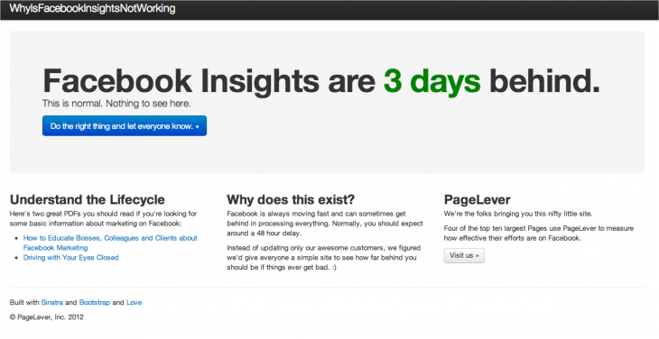 Snap 2013 02 22 at 09.40.16 730x376 Facebook confirms Page Insight bugs led to misreported analytics with fix rolling out today