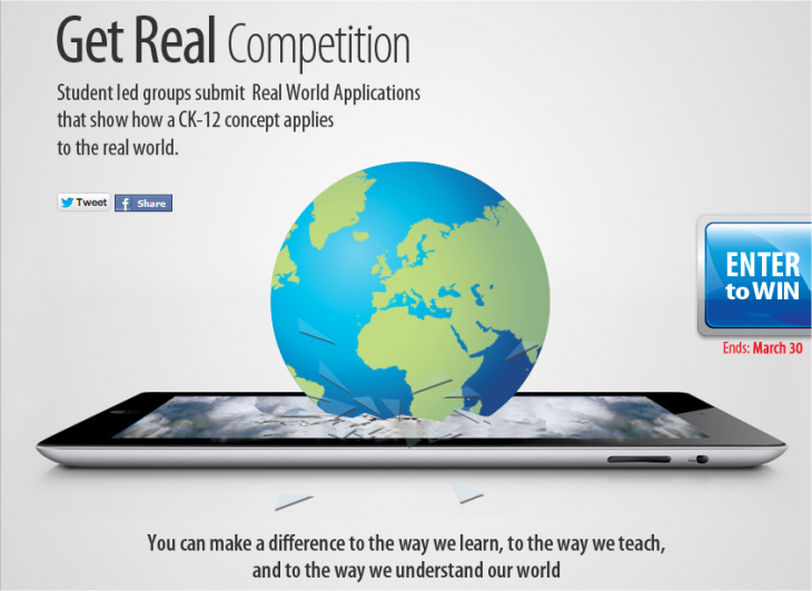 Snap 2013 02 22 at 17.58.24 730x531 CK 12′s 'Get Real' competition aims to test students use of tech and K 12 concepts in the real world