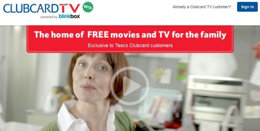 a2 520x262 Every little helps: Tesco launches Clubcard TV, its free Blinkbox powered video streaming service