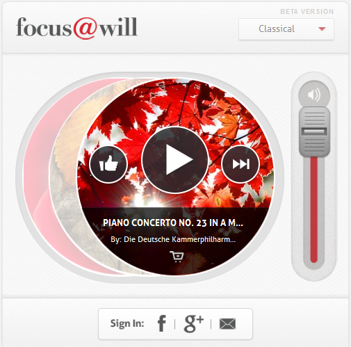 a3 Focus@Will: The music streaming service that wants to help you concentrate