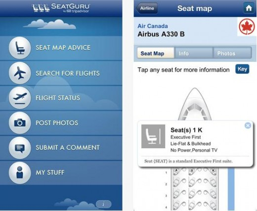 a8 520x427 TripAdvisor launches SeatGuru 2.0 for iOS, with new high res airplane seat maps and user generated photos
