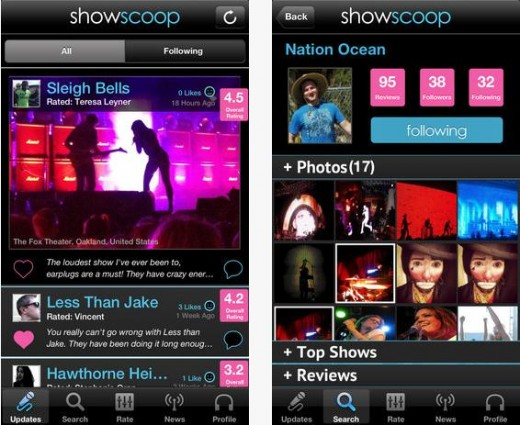 b6 520x425 ShowScoop launches its Yelp for live music app on iOS