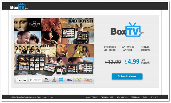boxtv4 730x441 BoxTV comes out of beta aiming to dominate India and become the worlds Netflix for Bollywood