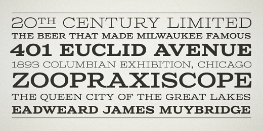 columbia titling 40 Of the most beautiful typeface designs released this January