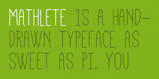mathlete 40 Of the most beautiful typeface designs released this January