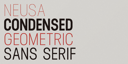 neusa 40 Of the most beautiful typeface designs released this January