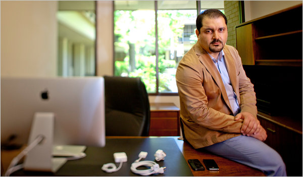 shervin nytimes Living the dream: Menlo Ventures Shervin Pishevar