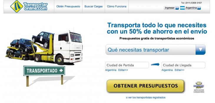 transportaronline home 730x352 TransportarOnline raises angel investment from former DHL executive to grow in Brazil