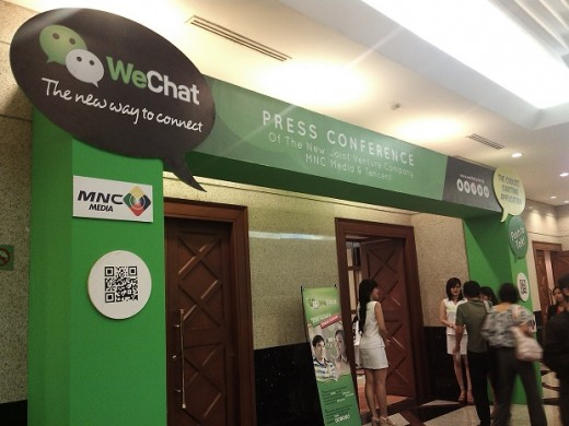 wechat mnc tencent 520x390 Tencent focuses on Indonesia with local joint venture to promote its WeChat mobile app