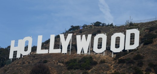 US-ENTERTAINMENT-HOLLYWOOD-SIGN-MAKEOVER