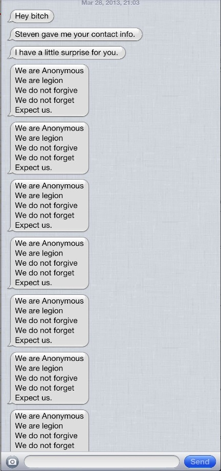 31 iMessage denial of service prank spams users rapidly with messages, crashes iOS Messages app