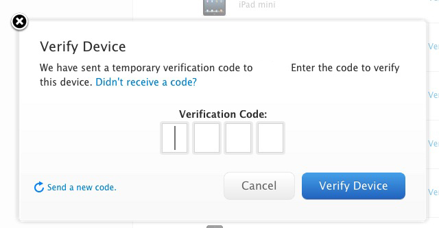 Screen Shot 2013 03 21 at 11.52.16 AM1 Heres how Apples new two step verification for iCloud and Apple IDs works