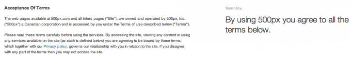 Screen Shot 2013 03 29 at 12.24.47 730x129 Now THIS is how to write your startups Terms of Service