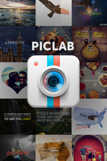 a9 220x330 PicLab lets you easily add text and masks to photos, and it had 100K downloads in its first 13 days