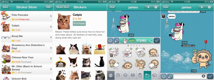 cubie stickers 730x273 Eastern influence: Paths new messaging and monetization model are straight out of Asia
