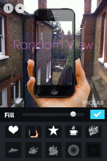 e6 220x330 PicLab lets you easily add text and masks to photos, and it had 100K downloads in its first 13 days