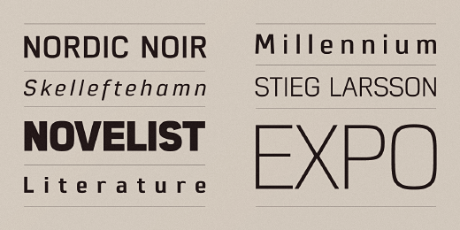 eund 32 Of the most beautiful typeface designs released last month