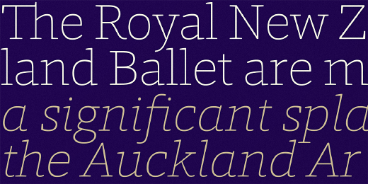 foro rounded 32 Of the most beautiful typeface designs released last month
