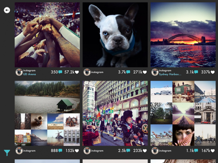gramatica ipad 730x547 Gramatica is a beautiful new way to browse Instagram on iOS