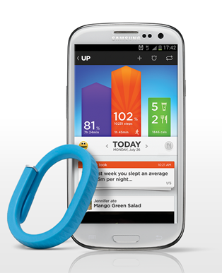 jawbone up android Jawbones UP app comes to Android as the fitness wristband gets set to hit 25 new countries