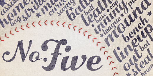 number five 32 Of the most beautiful typeface designs released last month