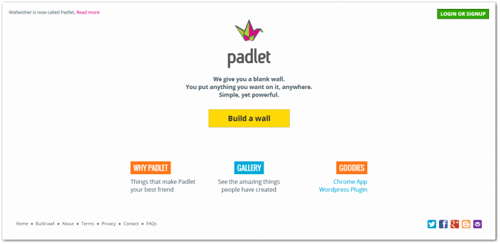padlet11 730x356 YC backed Padlets quest to democratize Web content creation hits 1.5 million walls