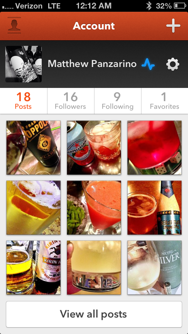 photo 1 The gorgeous Elixr for iOS uses data to help you find better drinks in better places