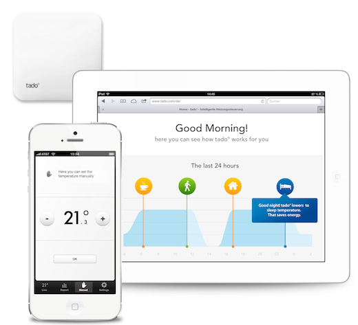 tado Overview EN Tado°, Europes answer to NEST, launches its smart heating app worldwide