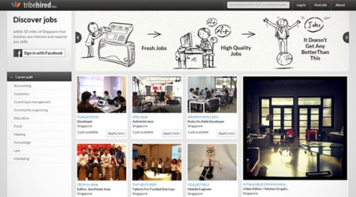 tribehired ss 520x288 Malaysian social recruitment site Tribehired raises $560,000, plans global launch