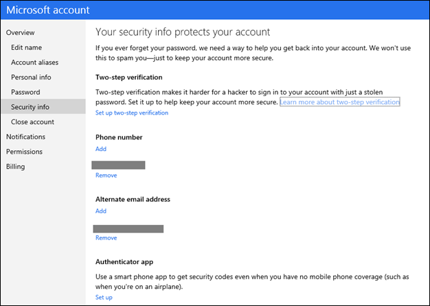 1373 Microsoft accounts to get optional two step verification, rollout to 700m users over the next couple days