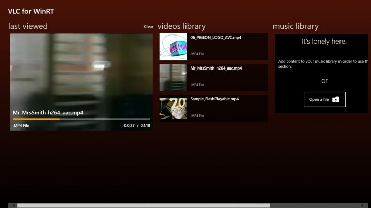 2 730x410 VLC for Windows 8 inches closer to completion as its developers share fresh screenshots of the app