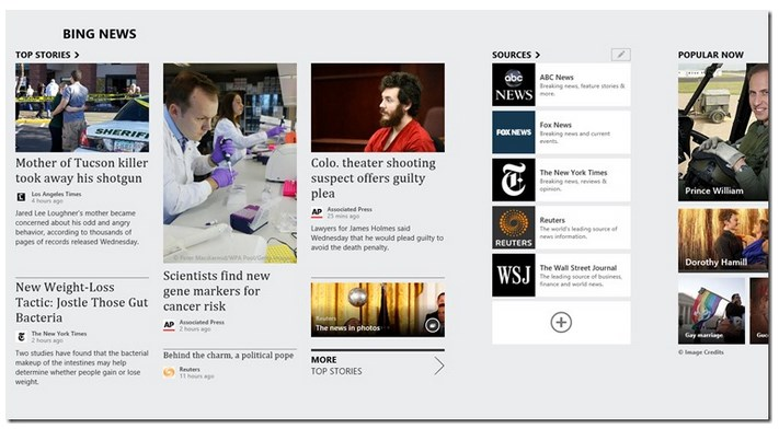 2013 04 15 09h22 50 Microsoft updates 6 core Windows 8 apps, turning News into a Google Reader replacement