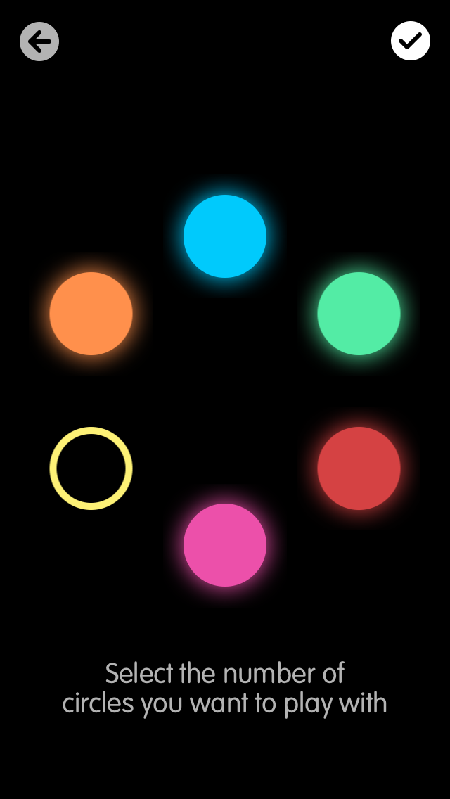 IMG 2481 Circles is a multiplayer, weaponized version of Simon Says for iOS that benefits Alzheimers research
