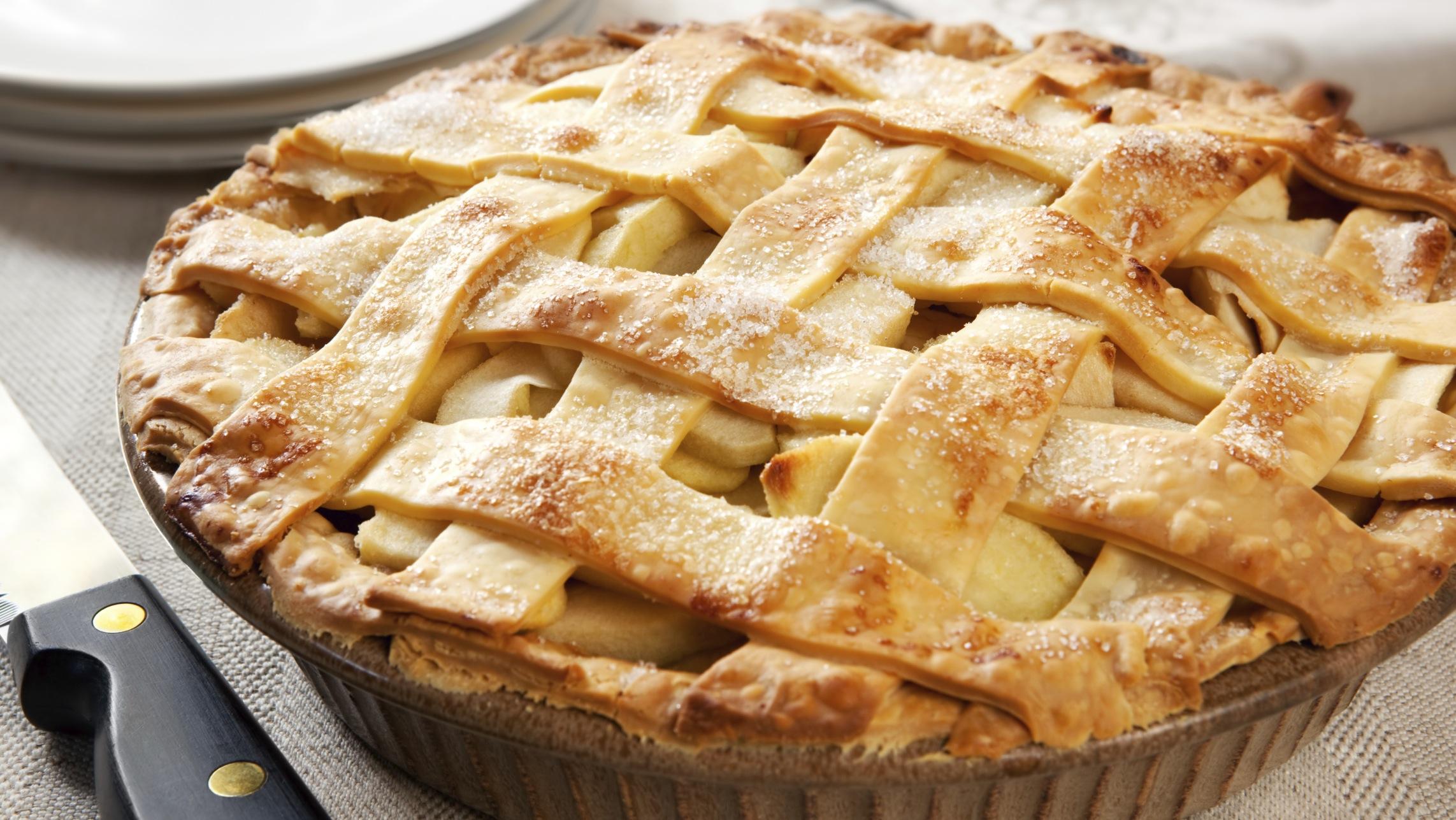 Открытые пирожки с яблоками рецепт